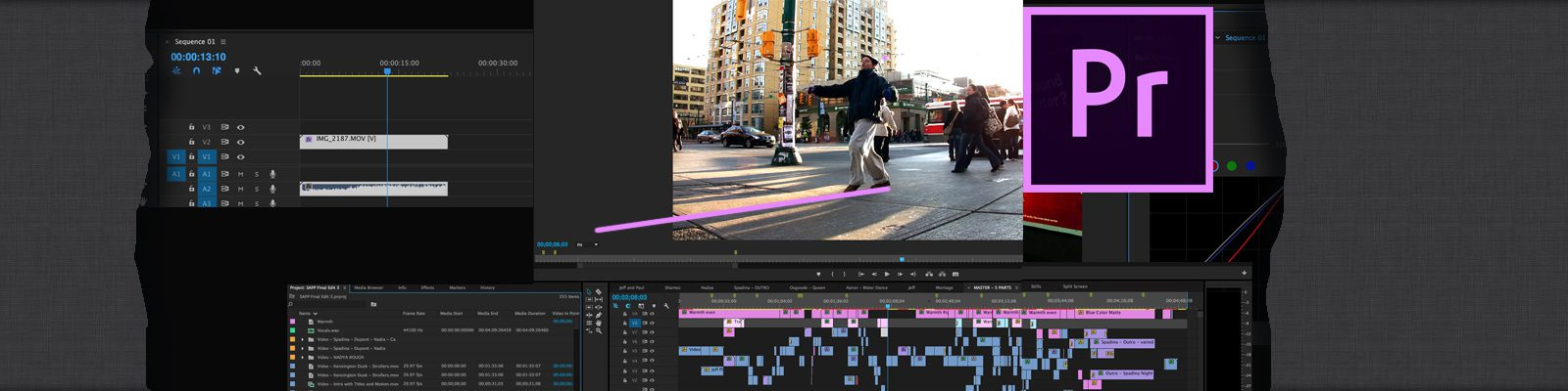 Learn Adobe Premiere and After Effects in Toronto